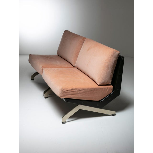 Aluminum Pair of Lounge Chairs by Gianni Moscatelli for Formanova For Sale - Image 7 of 7