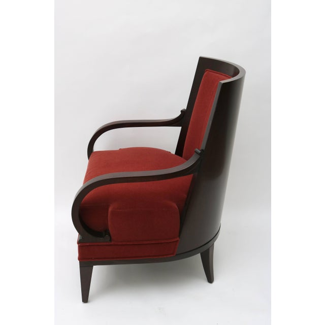 Art Deco Lucien Rollin Collection Art Deco Armchair by William Switzer Showroom For Sale - Image 3 of 11