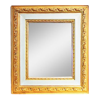 Gilt Gold Antique American Mirror For Sale