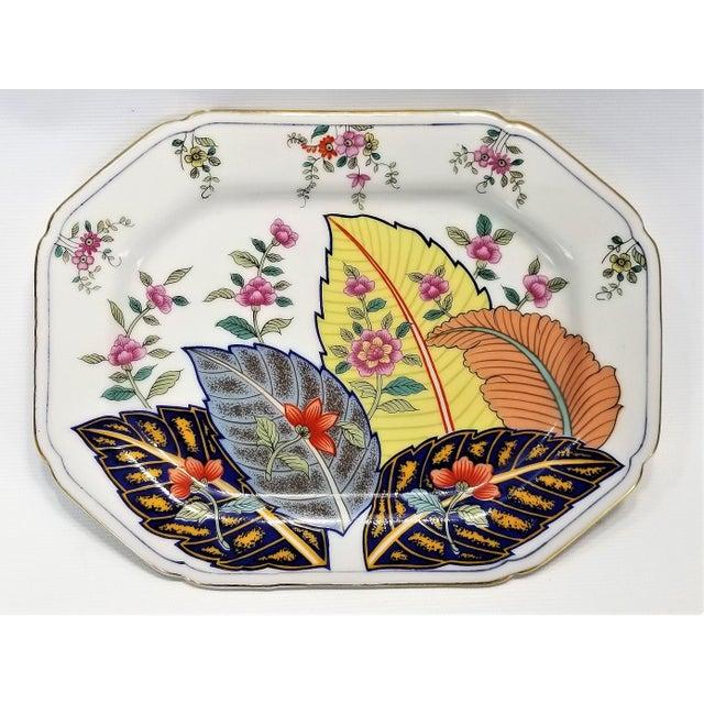 Vintage Japanese Porcelain Tobacco Leaf Tray - Signed 1977 For Sale - Image 12 of 12