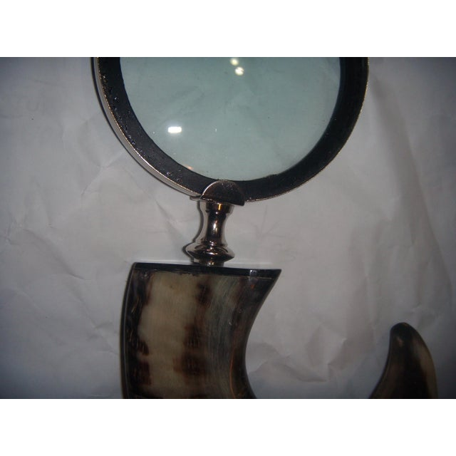 Horn Handle Magnifying Glass - Image 5 of 5