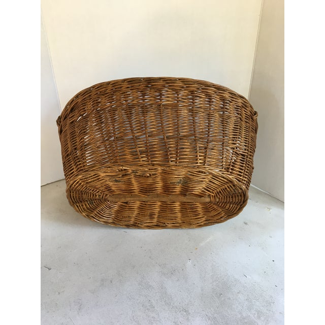 Oval French Patina Basket - Image 2 of 7