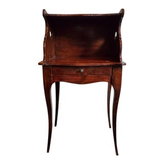 19th Century French Provincial Louis XV Style Bedside Table For Sale
