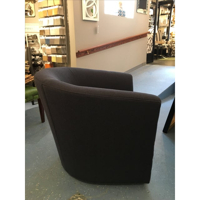 The perfect addition to any room is a well scaled swivel chair. Perfect for cocktails, or tv watching, this CR Laine...