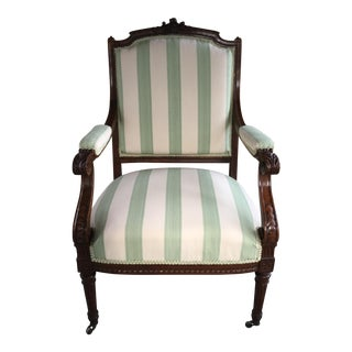 Louis XVI-Style French Armchair