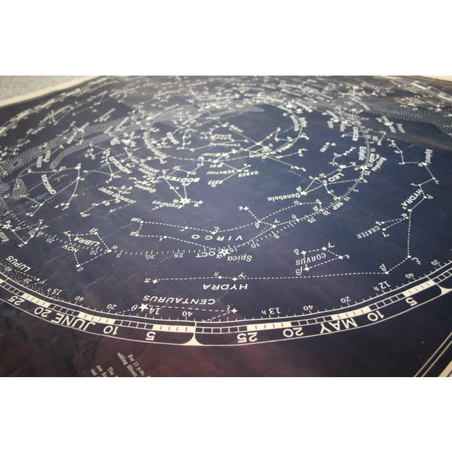 Vintage Rand McNally Star Chart for the Northern Skies For Sale - Image 9 of 11
