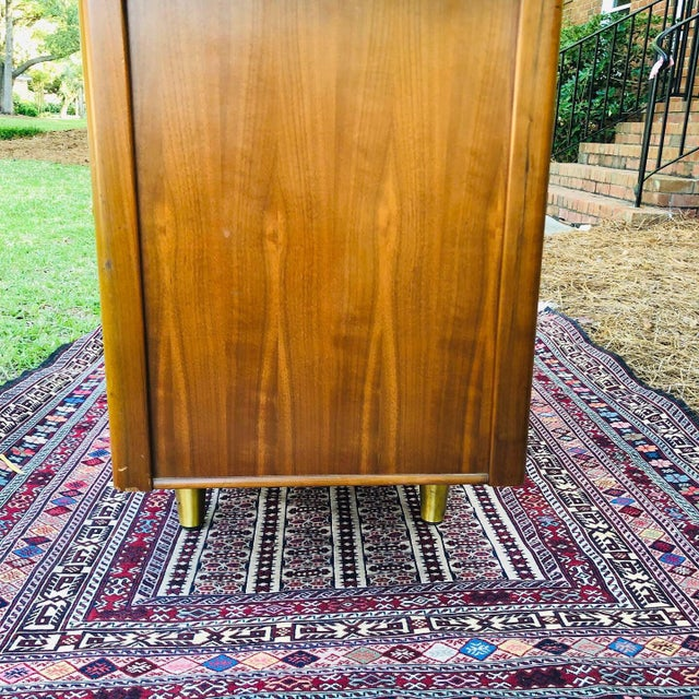 Mid-Century Modern Mid-Century Modern Custom Made Filing Cabinet/Credenza For Sale - Image 3 of 11