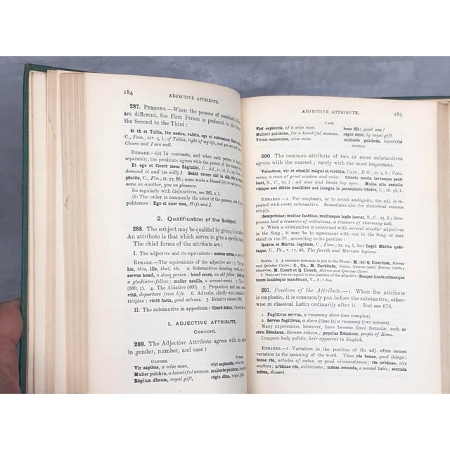 Antique Latin Textbook For Sale - Image 10 of 13