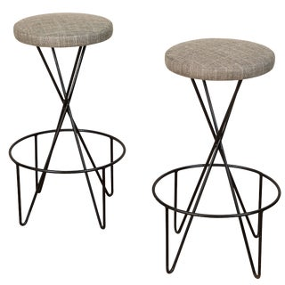 Mid-Century Barstools by Paul Tuttle - a Pair For Sale
