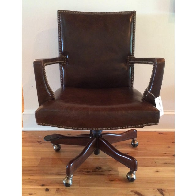 2010s Hooker Furniture Wingate Executive Chair For Sale - Image 5 of 5