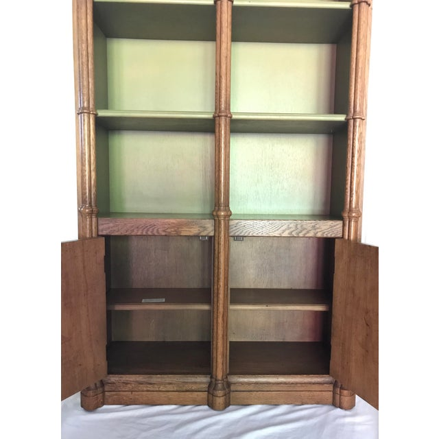 Wood Drexel Mid-Century Bookcase For Sale - Image 7 of 7