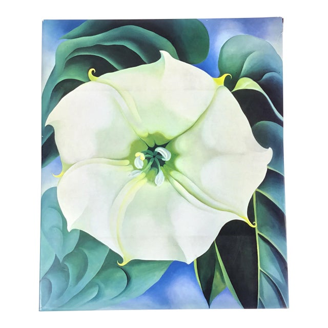 "Oversized Georgia O'Keeffe's ""One Hundred Flowers"" Coffee Table Book For Sale"