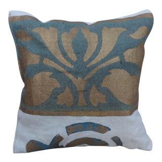 Custom Stenciled Linen Lavender Sachet