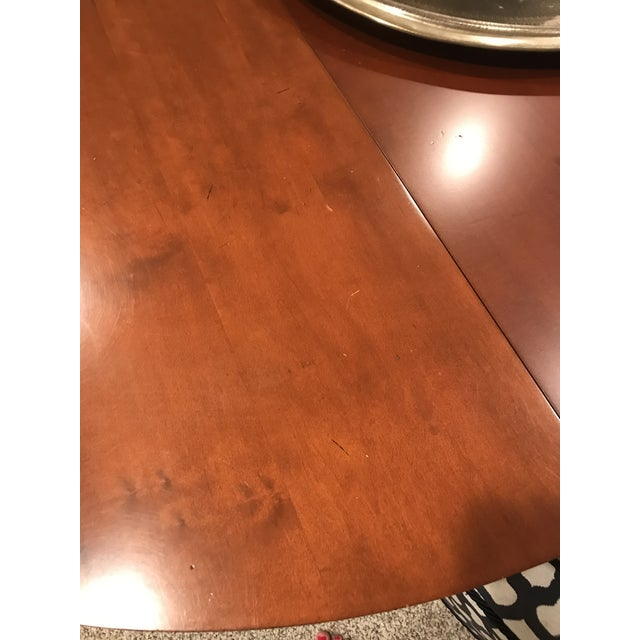 Restoration Hardware Round Dining Table - Image 8 of 10
