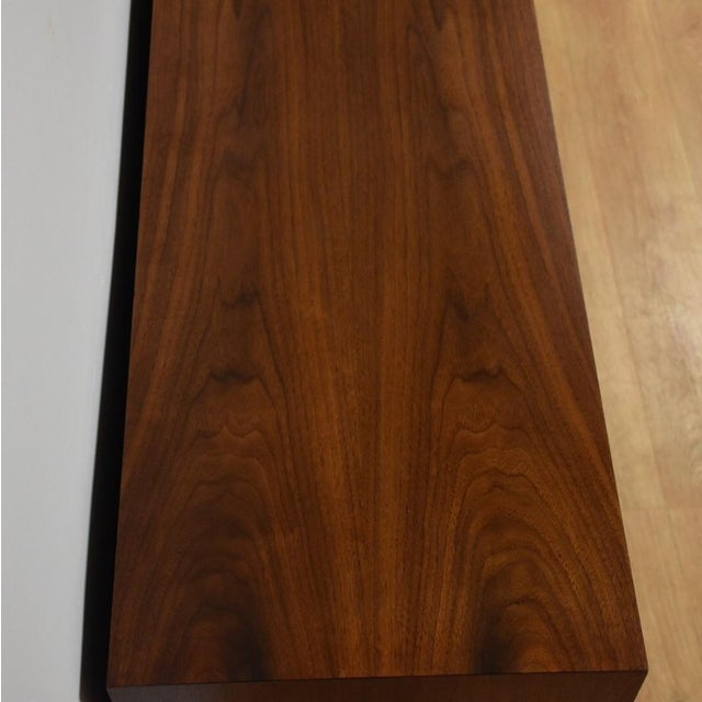 Mid Century Walnut 12 Drawer Dresser - Image 8 of 11
