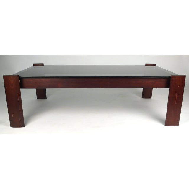 1970s Percival Lafer Coffee Table in Jacaranda Rosewood For Sale - Image 5 of 10