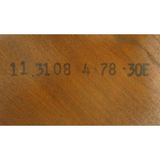 Pennsylvania House Solid Cherry Fiddleback Duxbury Windsor Arm Chair For Sale - Image 10 of 12