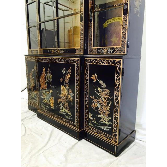 Vintage Drexel Heritage Chinoiserie China Cabinet Chairish