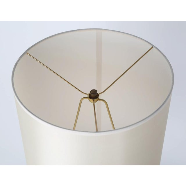 SCULPTURAL TABLE LAMP IN SHAGREEN AND HORN BY R & Y AUGOUSTI, CIRCA 1980S For Sale - Image 9 of 10