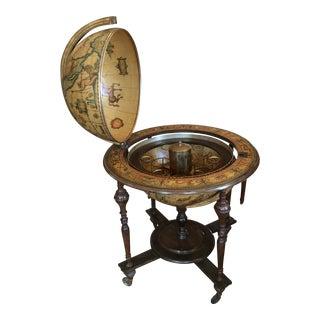 1940s Globe with Hidden Bar For Sale