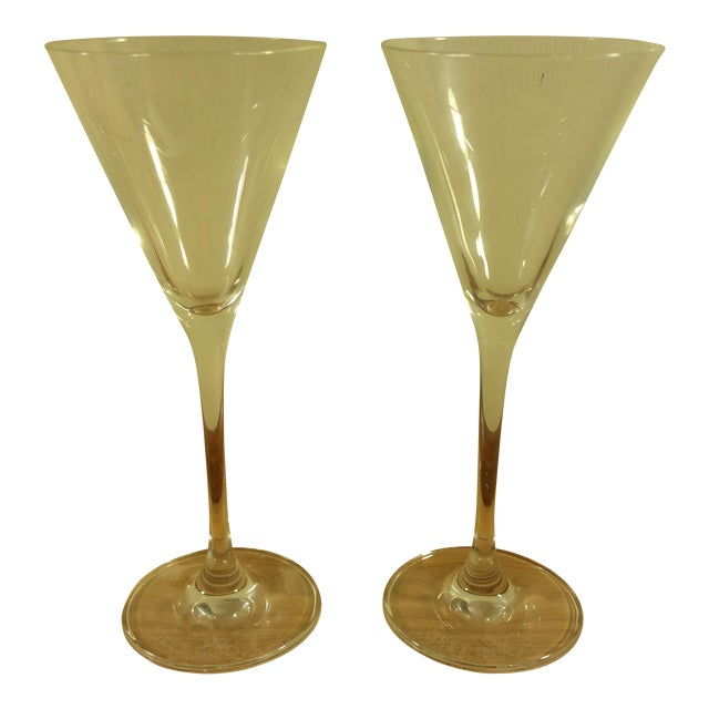 Grey Goose Martini Cocktail Glasses - A Pair - Image 1 of 5