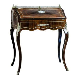 18th-Century Rosewood Lady's Secretary For Sale