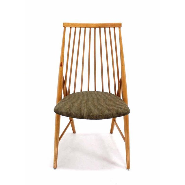 Pair of Swedish Spindle Dowel Back Chairs For Sale - Image 6 of 10