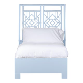 Tulum Bed Twin Extra Long - Blue For Sale