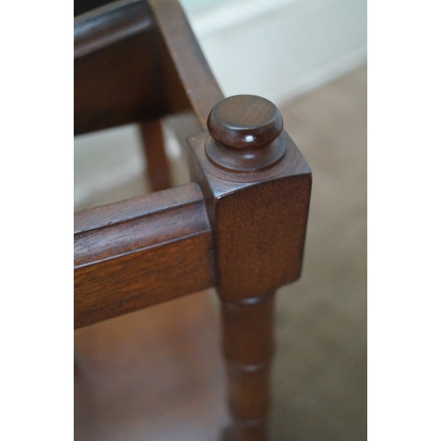 Schott Furniture Solid Mahogany Magazine Stand - Image 10 of 10