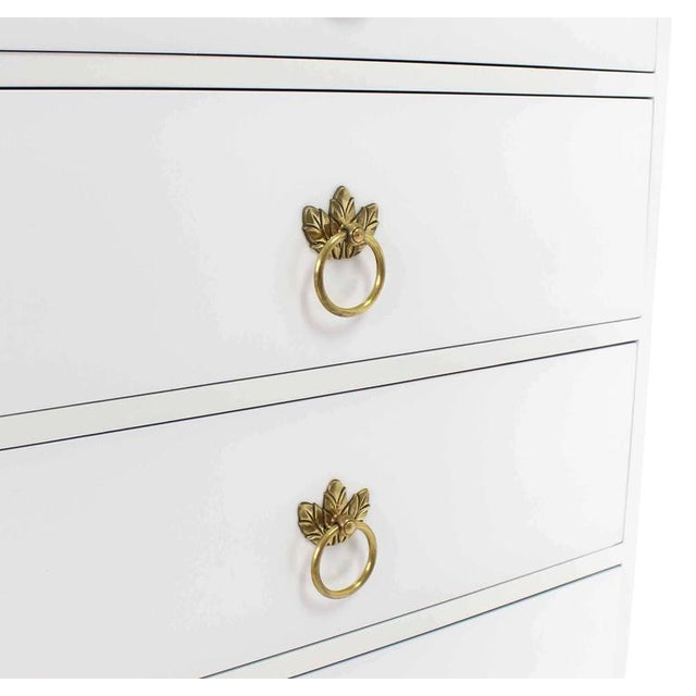 Grosfeld House Tall Seven Drawer Lingerie Chest by Grosfeld House For Sale - Image 4 of 8