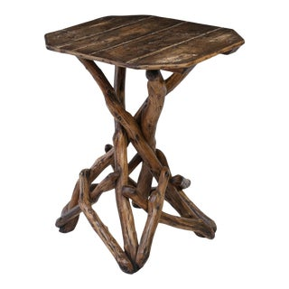 English Twig Table For Sale
