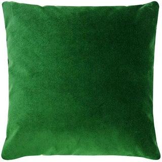 Emerald Velvet Pillow Cover - 20 Inch Preview