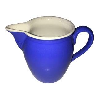 Vintage Villeroy & Boch Blue & White Ceramic Jug