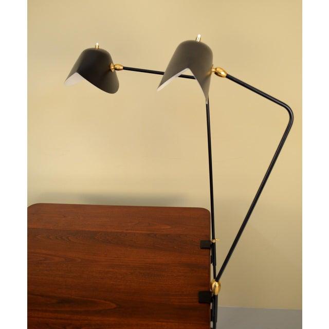 Mid-Century Modern Agrafee Desk Lamp by Serge Mouille For Sale - Image 3 of 5