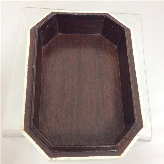 Maitland Smith Tessellated Marble & Malachite Box - Image 9 of 11