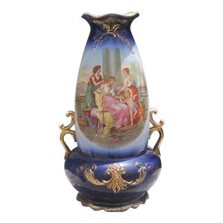 Antique Royal Vienna Style Vase For Sale