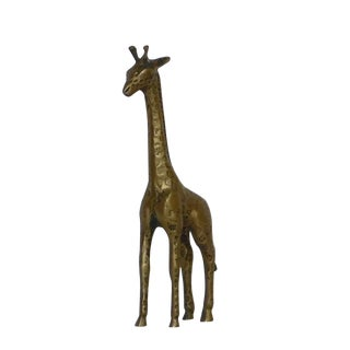 Vintage Brass Giraffe For Sale