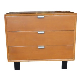 Mid Century Modern Herman Miller George Nelson 3 Drawer Chest For Sale