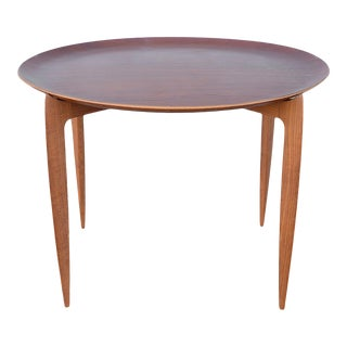 Danish Teak Folding Tray Table by Engholm & Willumsen for Fritz Hansen For Sale