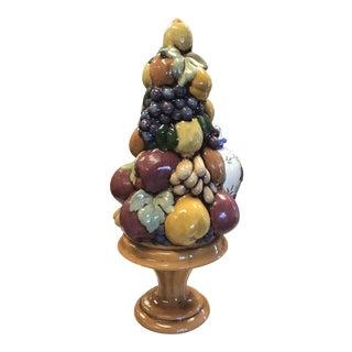 1940s Vintage Ceramic Fruit Tree For Sale