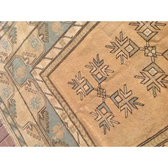 "Vintage Anatolian Rug - 6'7"" x 10' For Sale - Image 5 of 6"