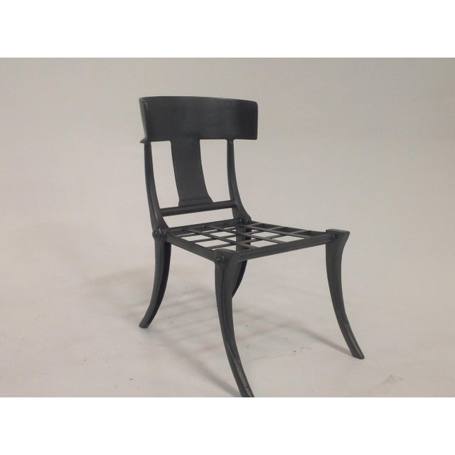 2010s Klismos Outdoor Chair For Sale - Image 5 of 5