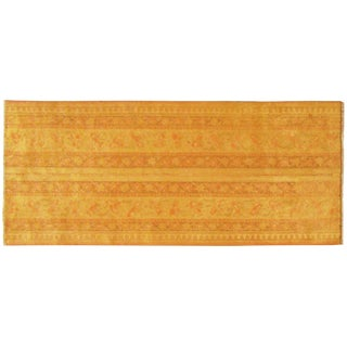 Early 20th Century Antique Indian Agra Rug - 5′ × 2′1″ For Sale