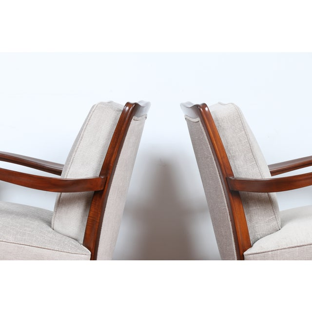 1940's Reupholstered Chair - Pair - Image 11 of 11