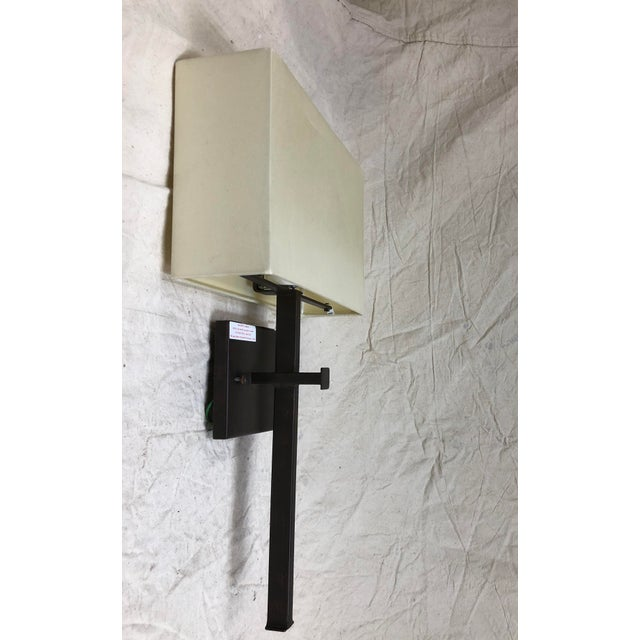 Traditional Ashdown Wall Sconce by Curry & Company For Sale - Image 3 of 8