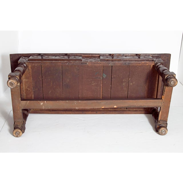Late 17th Century Spanish Baroque Walnut Center Table For Sale - Image 11 of 13