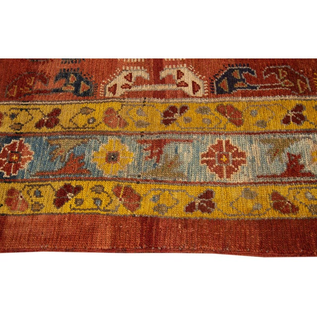 "Vintage Persian Tribal Bakshaish Rug, 7'6"" X 10'5"" For Sale - Image 4 of 10"