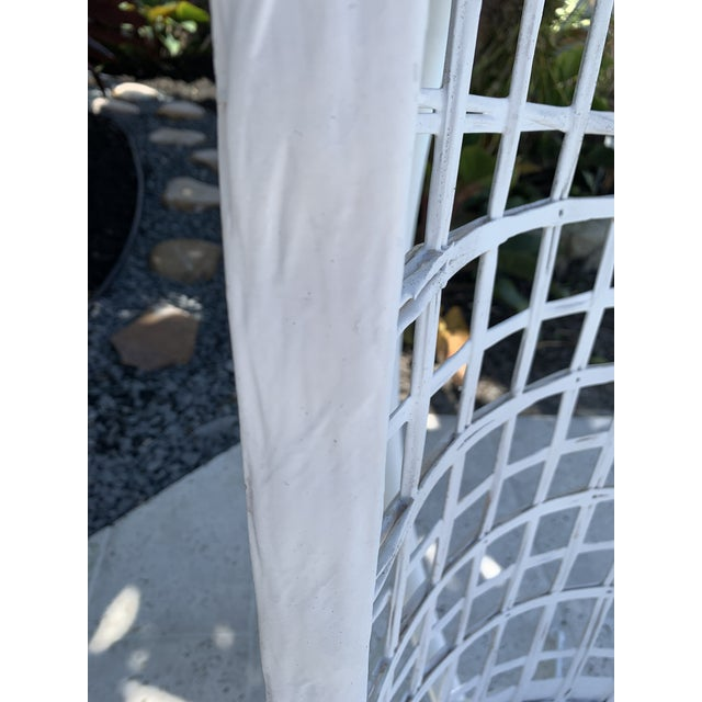 Vintage Russell Woodard Hanging Birdcage Swing For Sale In Miami - Image 6 of 13