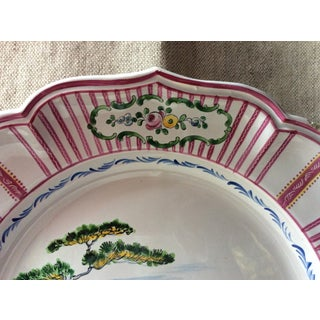 French Faience Stoneware Plate Preview