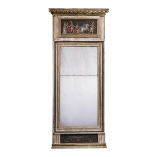 A Swedish Empire Mirror ca. 1800 For Sale